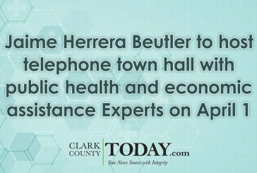 Jaime Herrera Beutler to host telephone town hall with public health and economic assistance Experts on April 1