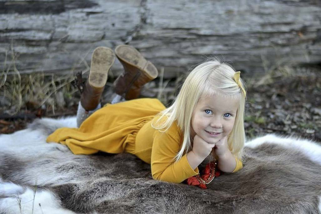 Five-year-old Juniper Wilson was killed last Friday during a head-on crash on SR-503 in Brush Prairie. Photo courtesy Wilson Family