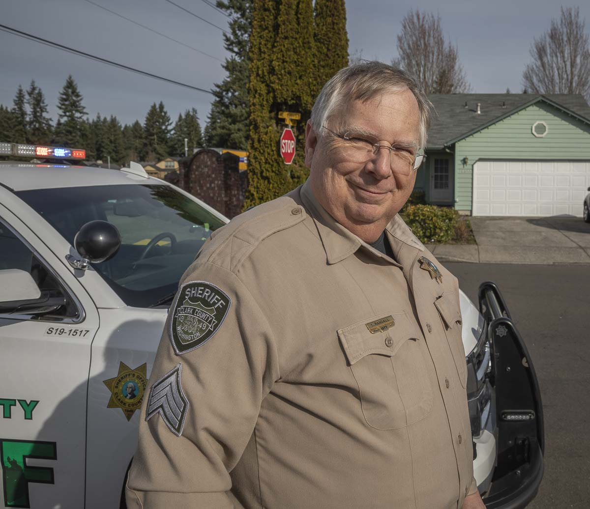 Sergeant Craig Randall, Clark County Sheriff's Office. Photo by Jacob Granneman
