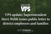 VPS update: Superintendent Steve Webb issues public letter to district employees and families