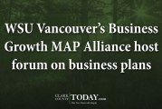 WSU Vancouver's Business Growth MAP Alliance host forum on business plans