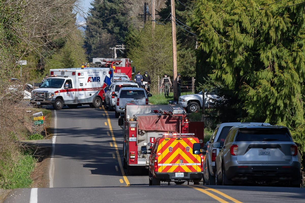 According to a CCSO report, a suspect shot two individuals with an AR-15 style weapon during a carjacking. Photo by Mike Schultz