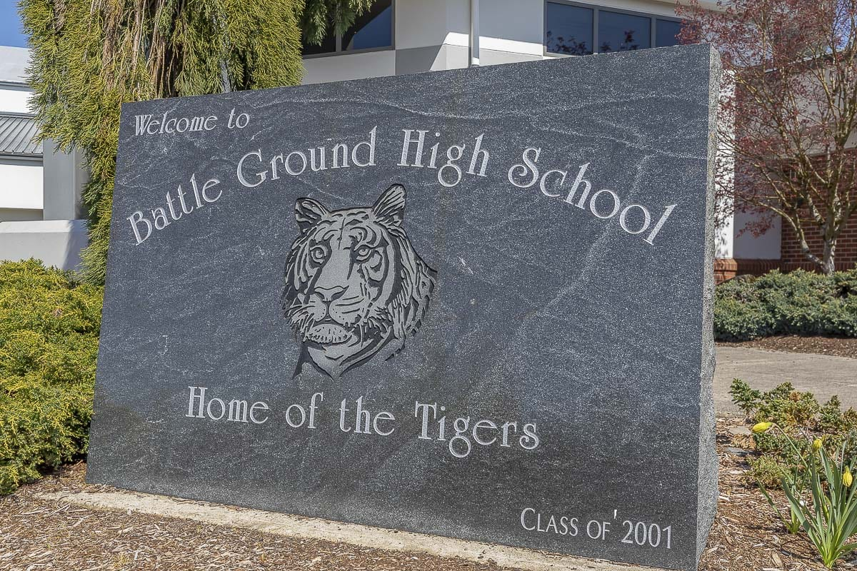Battle Ground School District is using an outside company to produce a virtual graduation ceremony for students and parents. Photo by Mike Schultz
