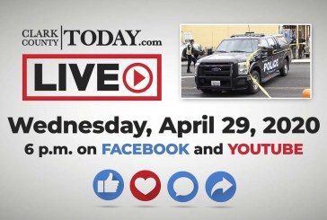 Watch: Clark County TODAY LIVE • Wednesday, April 29, 2020