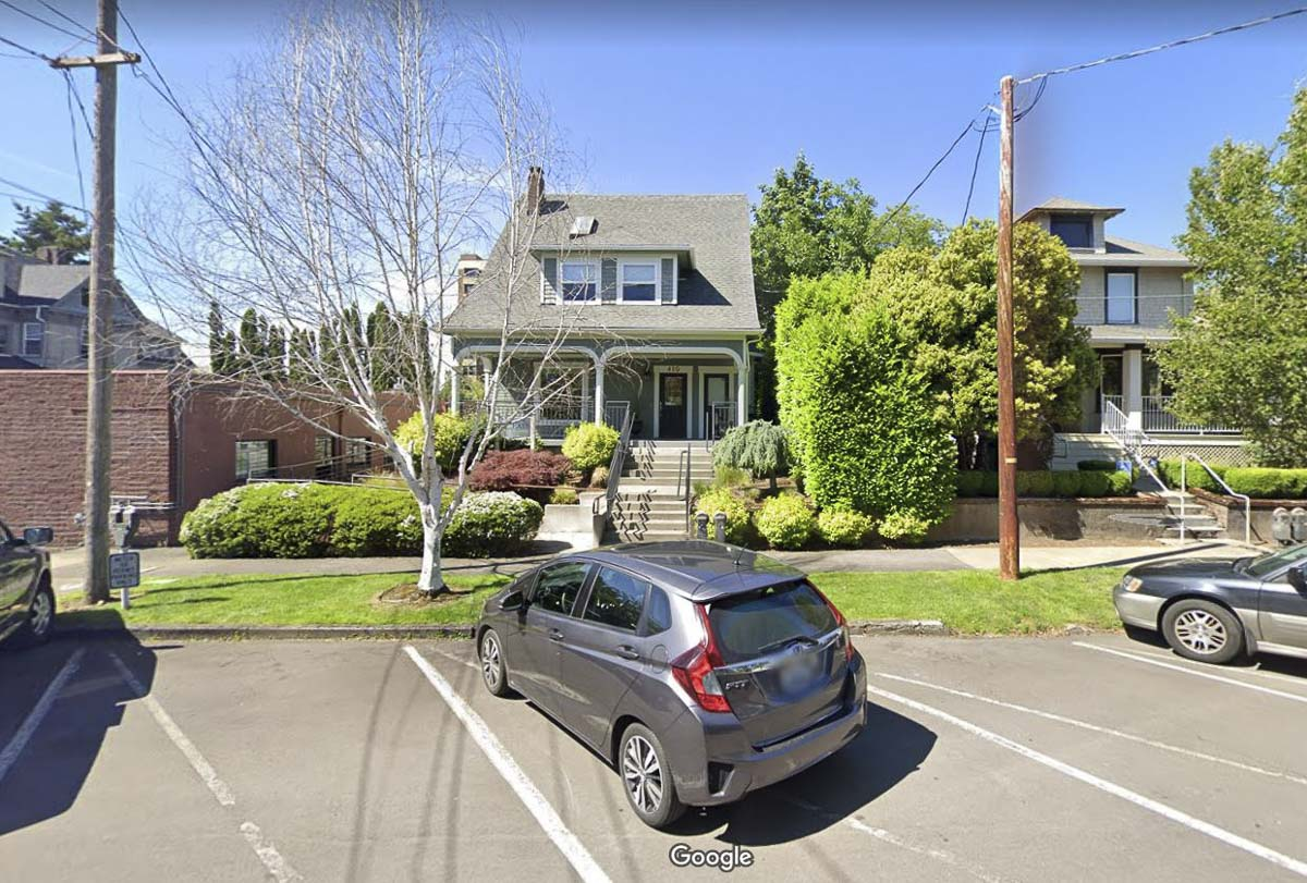 A fire at a westside residence that served as home to the NewFocus Financial Group business, shown here in a previous photo, was extinguished Thursday morning by Vancouver firefighters. Photo courtesy of Google Maps