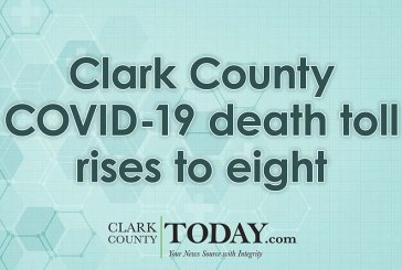 Clark County COVID-19 death toll rises to eight, 131 cases