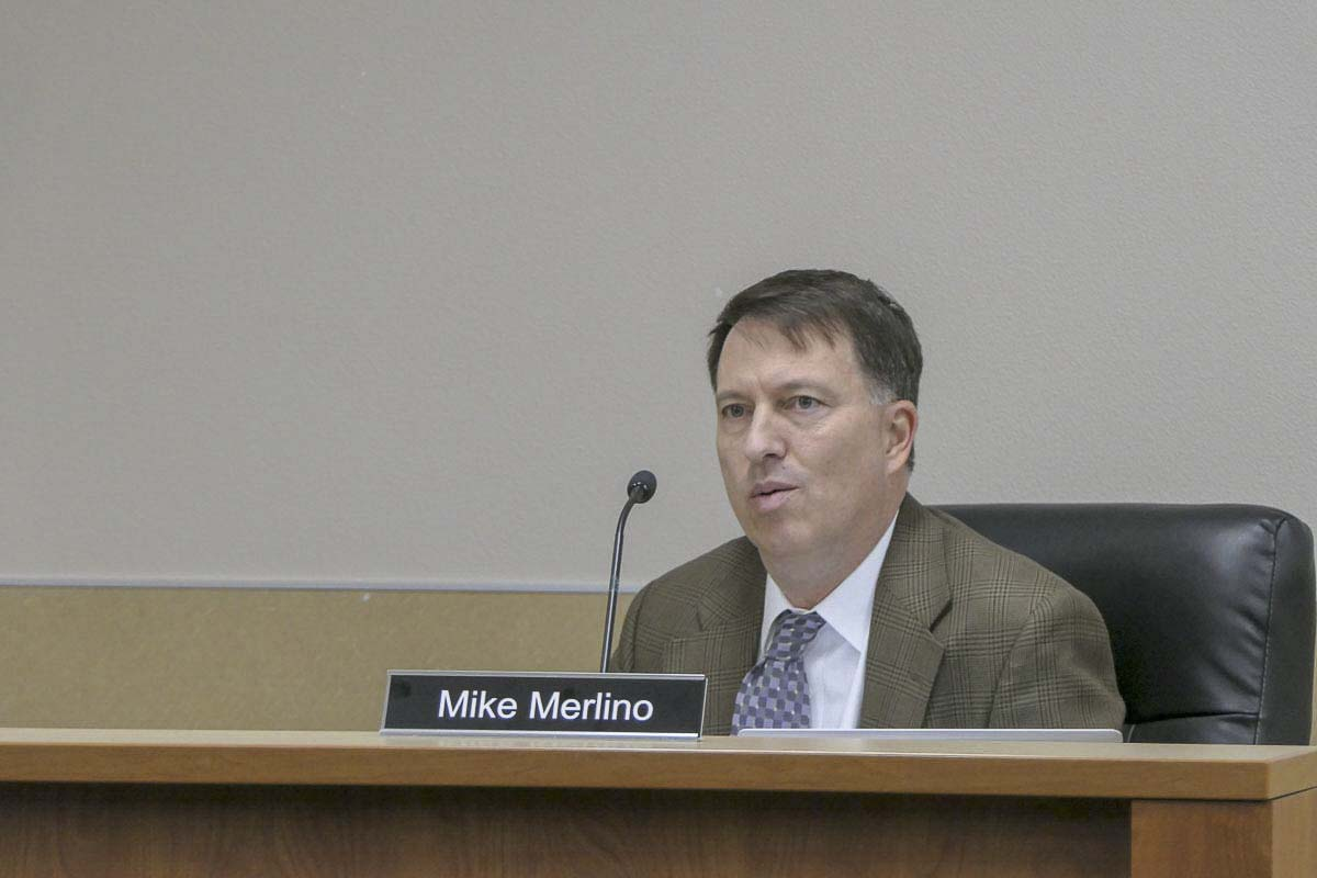 Superintendent Mike Merlino