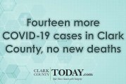 Fourteen more COVID-19 cases in Clark County, no new deaths