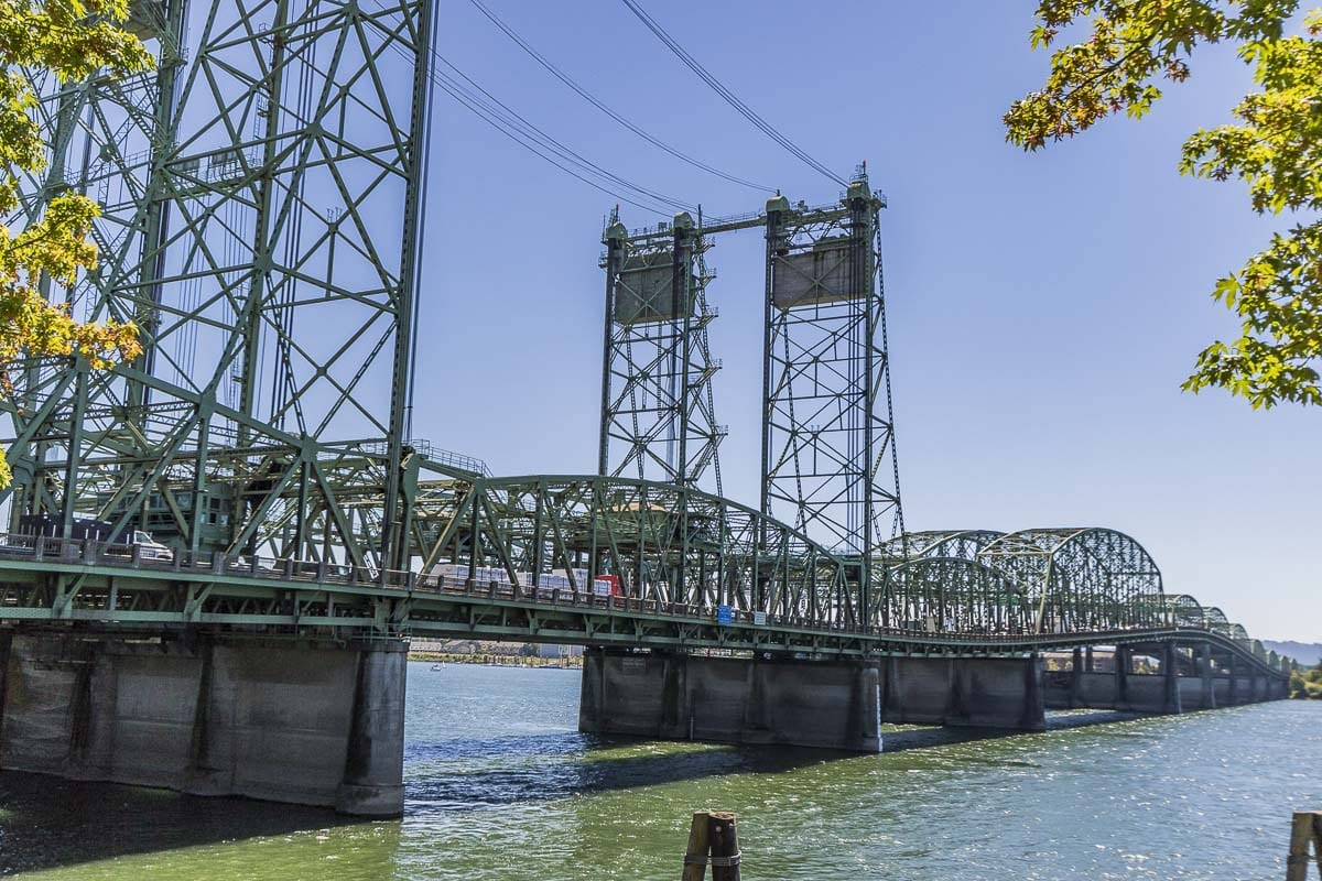 The southbound span of the Interstate 5 Bridge will close to all traffic from 10 p.m. Sat., April 18 until 6 a.m. Sun., April 19. Photo by Mike Schultz
