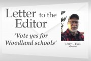 Letter: 'Vote yes for Woodland schools'