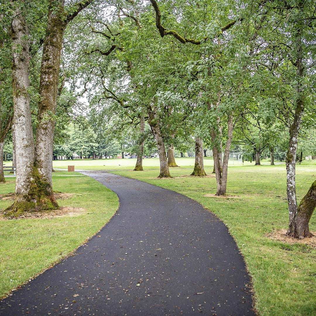 Oakbrook Park (shown here) is among the parks covered in the Vancouver Parks and Recreation departmental closures and cancellations extended through July 31. Photo courtesy of city of Vancouver