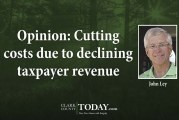 Opinion: Cutting costs due to declining taxpayer revenue