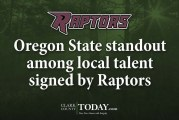 Oregon State standout among local talent signed by Raptors