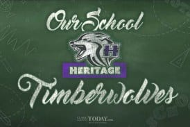 Our school: Heritage Timberwolves