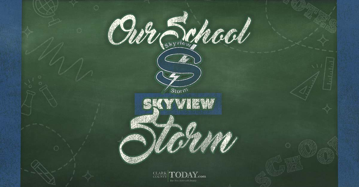 Student leaders Mikelle Anthony and Jake Miller describe what makes Skyview High School so special