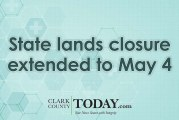 State lands closure extended to May 4