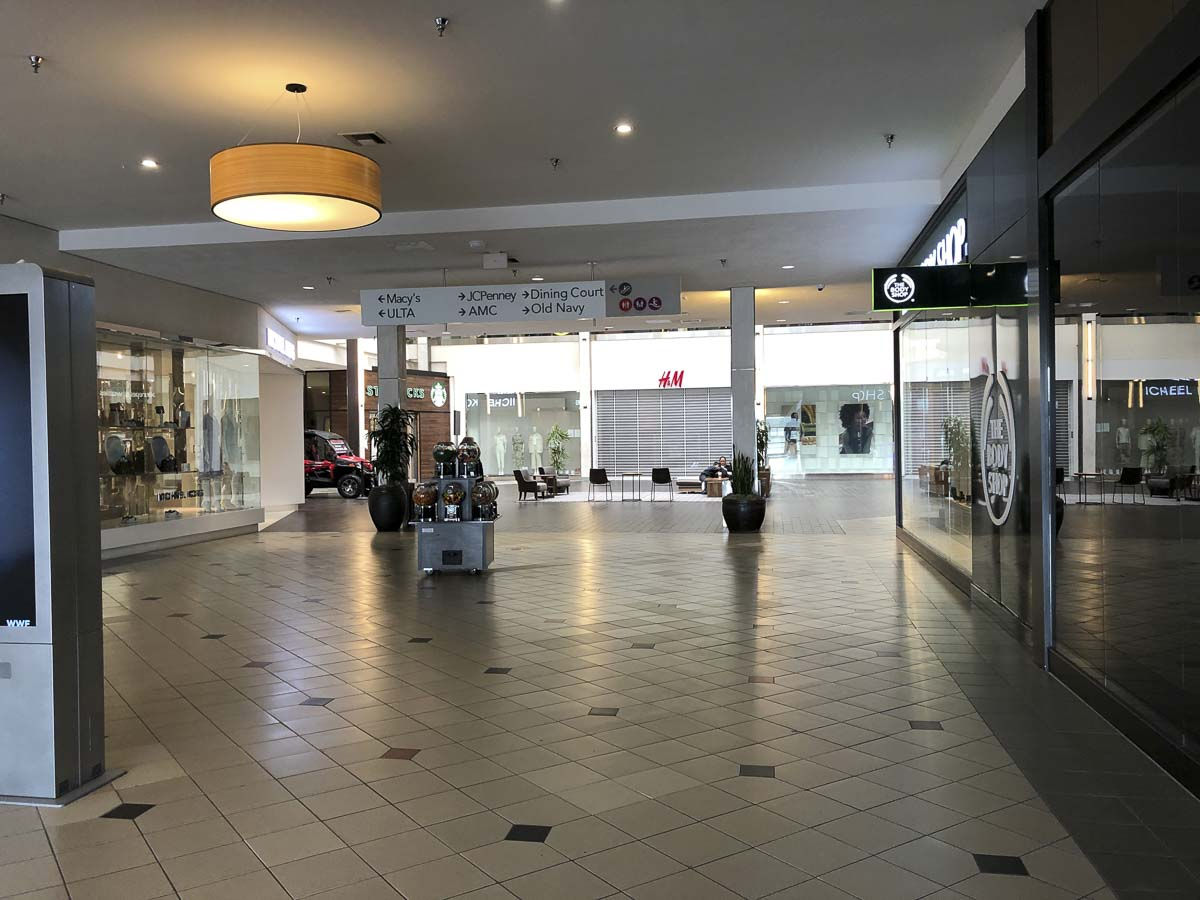 Business was already slow at Vancouver Mall before it closed due to COVID-19 on March 27. Now businesses say they won't get a break on rent despite the loss of business. Photo by Jacob Granneman