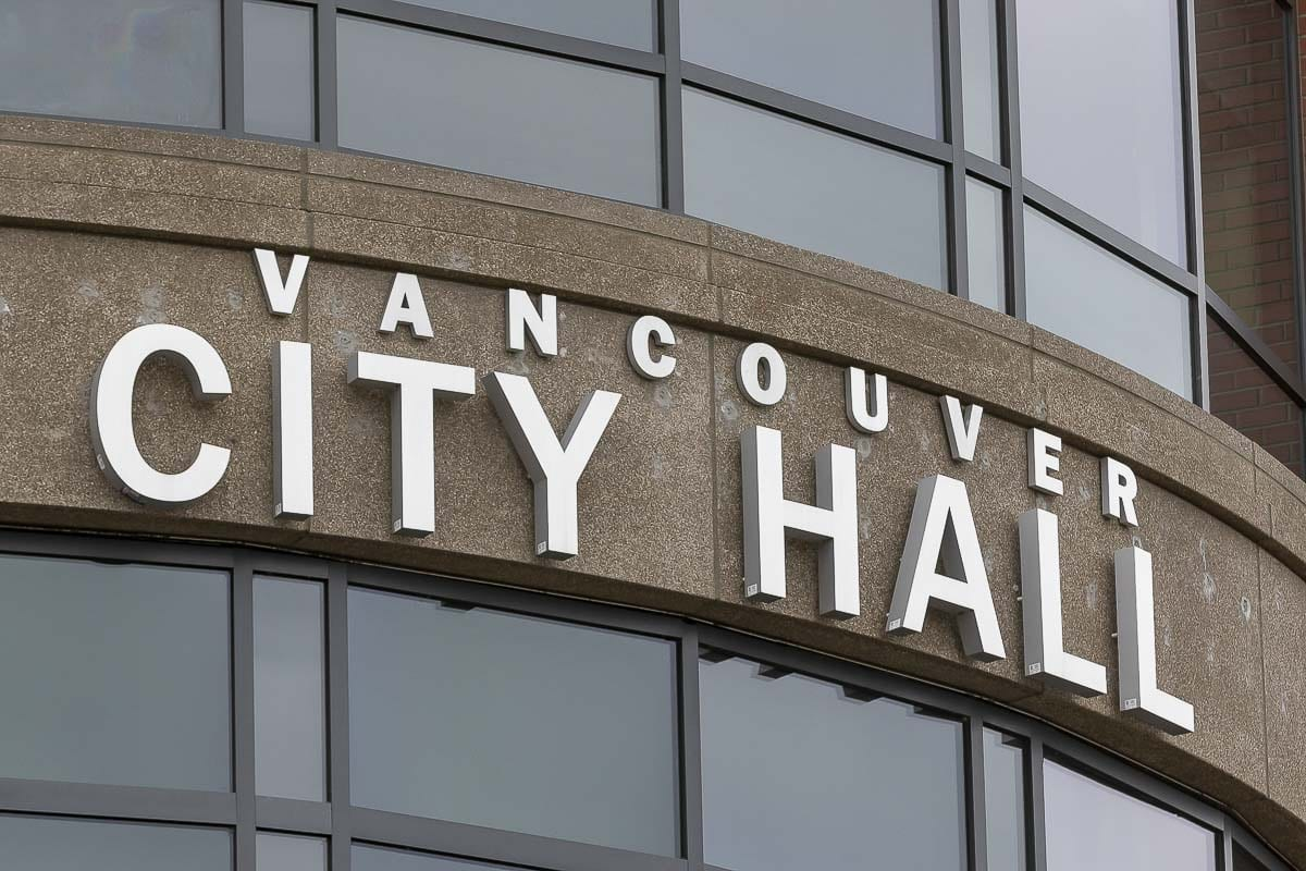 Vancouver City Hall. Photo by Mike Schultz