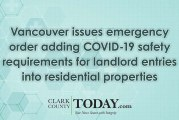 Vancouver issues emergency order adding COVID-19 safety requirements for landlord entries into residential properties