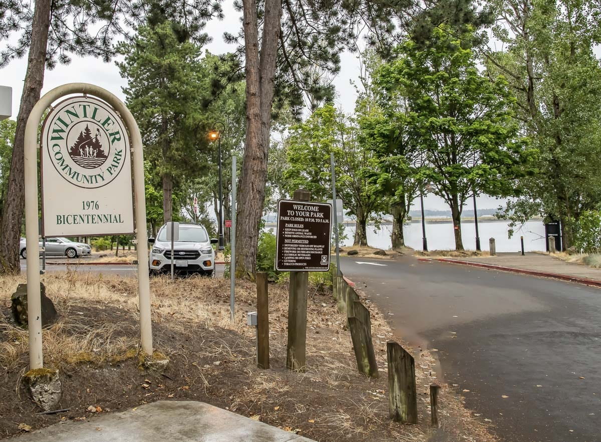 Wintler Community Park is a popular destination due to its beach access. Closing the park now is meant to prevent crowds from gathering as temperatures begin to rise. Photo courtesy of city of Vancouver
