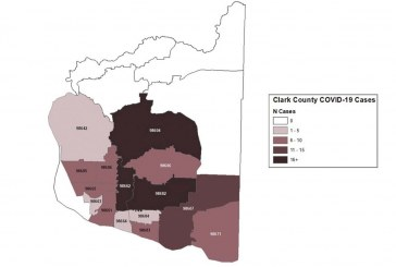 Clark County COVID-19 cases rise by six to 137
