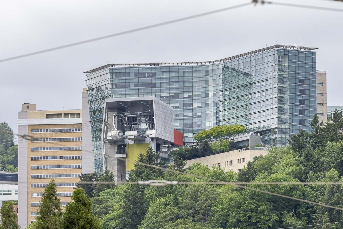 Oregon Science & Health University in Portland, OR. Photo by Mike Schultz