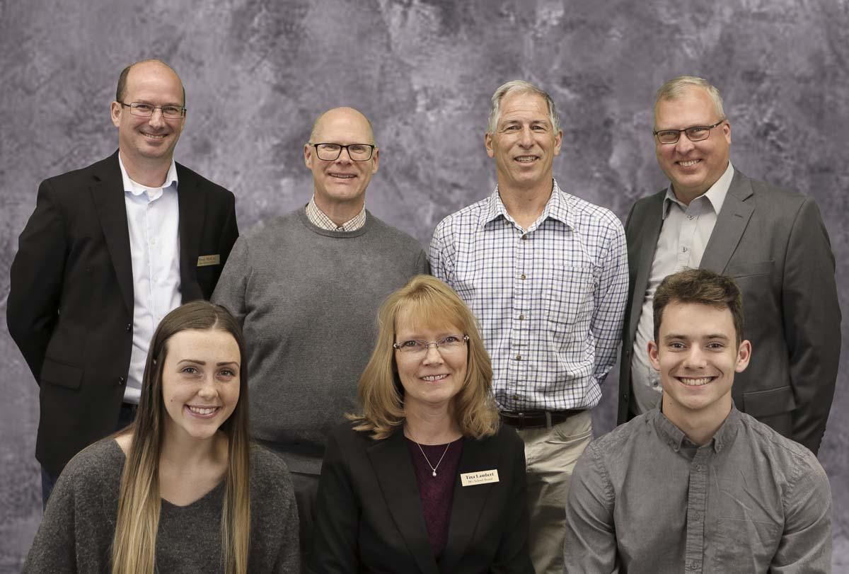 Battle Ground Public Schools' Board of Directors and student representatives are shown here. Photo courtesy of Battle Ground Public Schools