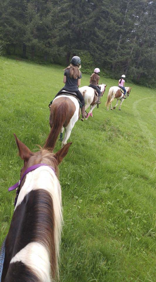 Horse riding is a natural activity for social distancing, according to organizers of the Son Rise Ranch Horse Camps. Photo courtesy of Son Rise Ranch