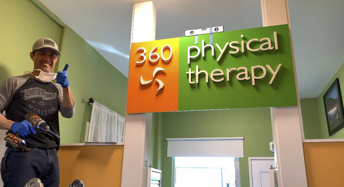 The new entryway to 360 Physical Therapy within CrossFit Fort Vancouver can be seen here. Photo courtesy of 360 Physical Therapy