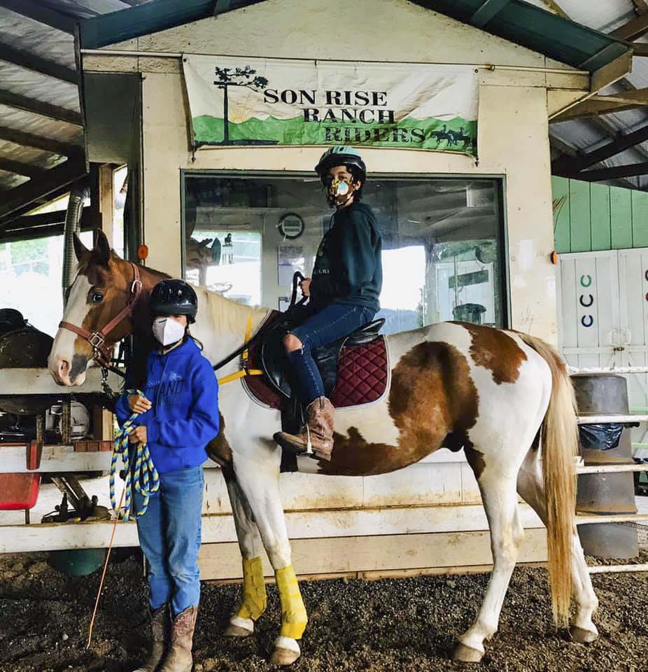 Vancouver's Son Rise Ranch, owned by Pamila Cronkhite, is home to annual Horse Camps for those ages 8-18. Photo courtesy of Son Rise Ranch