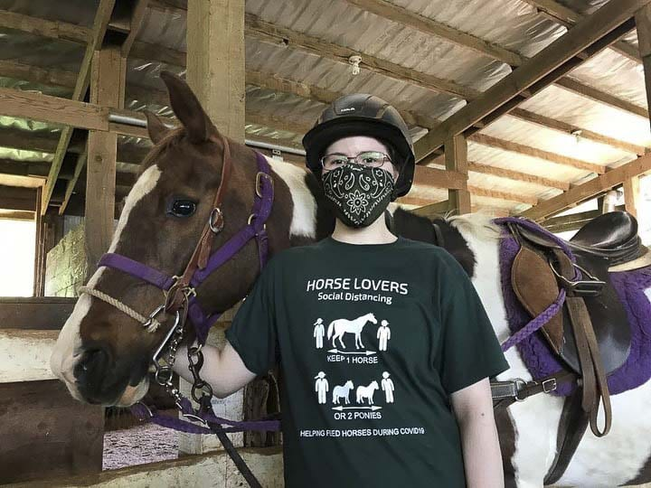 As the state of Washington prepares to reopen in stages this summer, organizers, staffers and volunteers at Vancouver's Son Rise Ranch are preparing for their annual Summer Horse Camps. Photo courtesy of Son Rise Ranch
