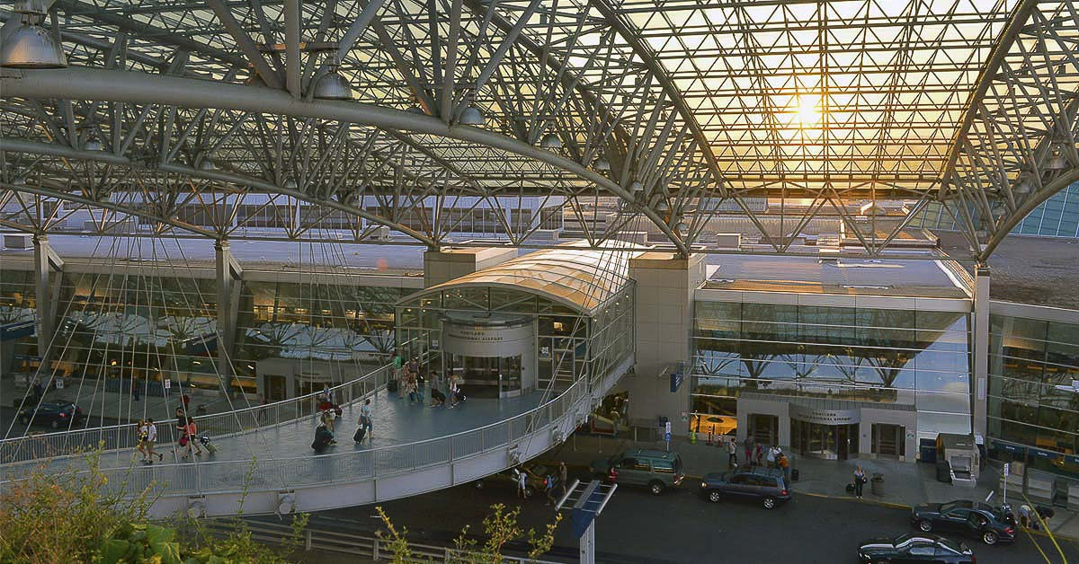 Portland International Airport, which supports more than 10,000 direct jobs, including about 3,000 held by Clark County residents, is operating at 5 percent of normal capacity because of the coronavirus shutdown. Photo courtesy of the Port of Portland