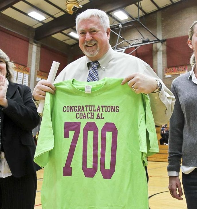 Al Aldridge won more than 700 games coaching the Prairie girls basketball program, including six state championships. Photo by Mike Schultz
