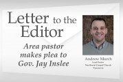 Letter: Area pastor makes plea to Gov. Jay Inslee