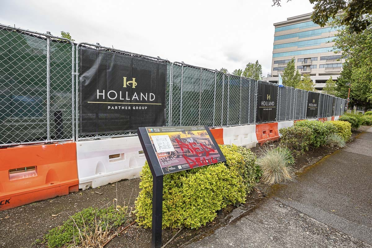 Holland Partners Group is slated to begin construction on a new mixed use tower at Block 10 in downtown Vancouver this Summer. Photo by Mike Schultz