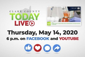 WATCH: Clark County TODAY LIVE • Thursday, May 14, 2020