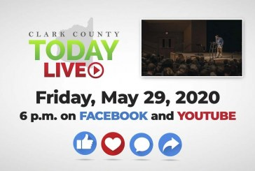 WATCH: Clark County TODAY LIVE • Friday, May 29, 2020