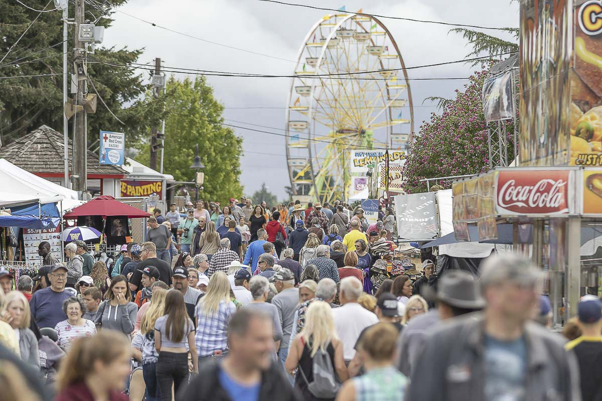 Organizers announced the cancellation of the 2020 Clark County Fair Wednesday. It would have been the 152nd year of the annual event which attracts as many as 280,000 visitors each year. Photo by Mike Schultz
