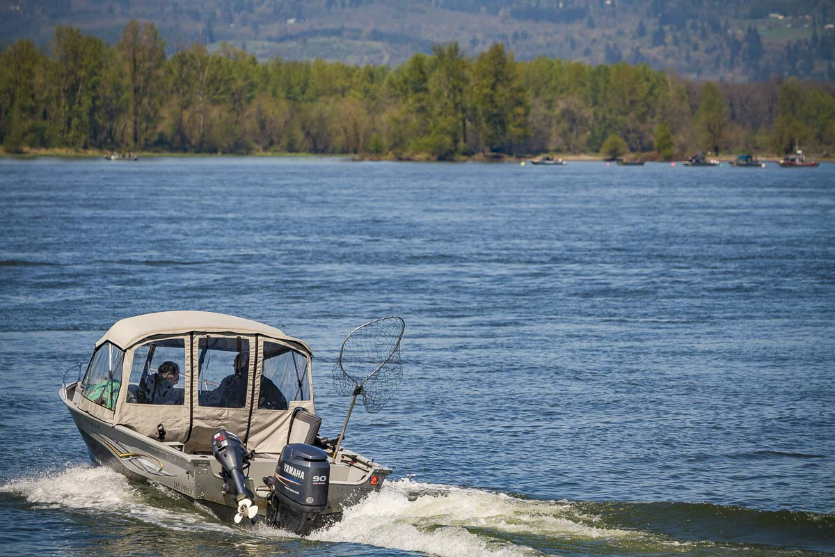 The Columbia River previously opened to spring Chinook for four days earlier this month, following a statewide recreational fishing closure to help combat the spread of COVID-19. Photo by Mike Schultz