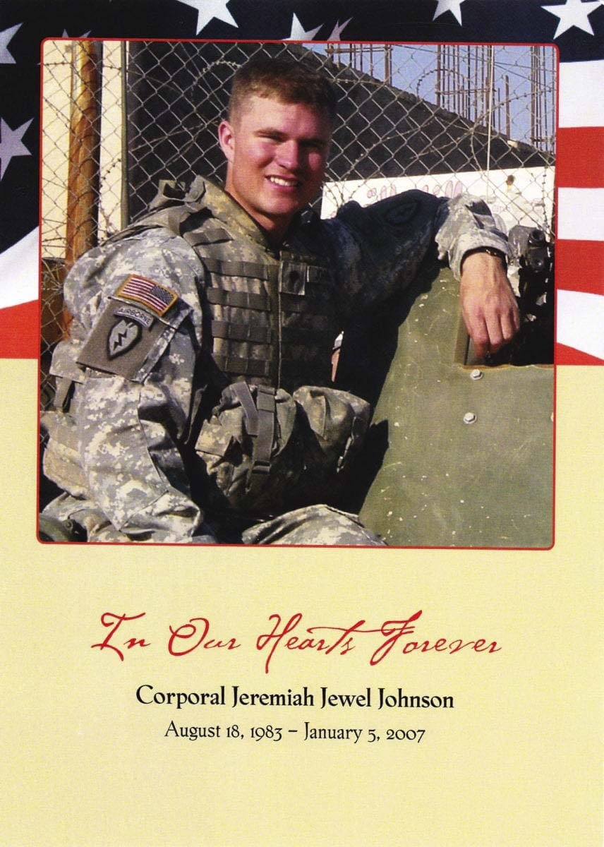 U.S. Army Cpl. Jeremiah Jewel Johnson died from injuries sustained in Iraq in 2007. A Prairie High School graduate and one who loved playing baseball, the Johnson family gives out a scholarship in his name every year at the Southwest Washington Senior All-Star games. There is no event this year, but the plan is for the scholarship to return in 2021. Photo courtesy of the Johnson family