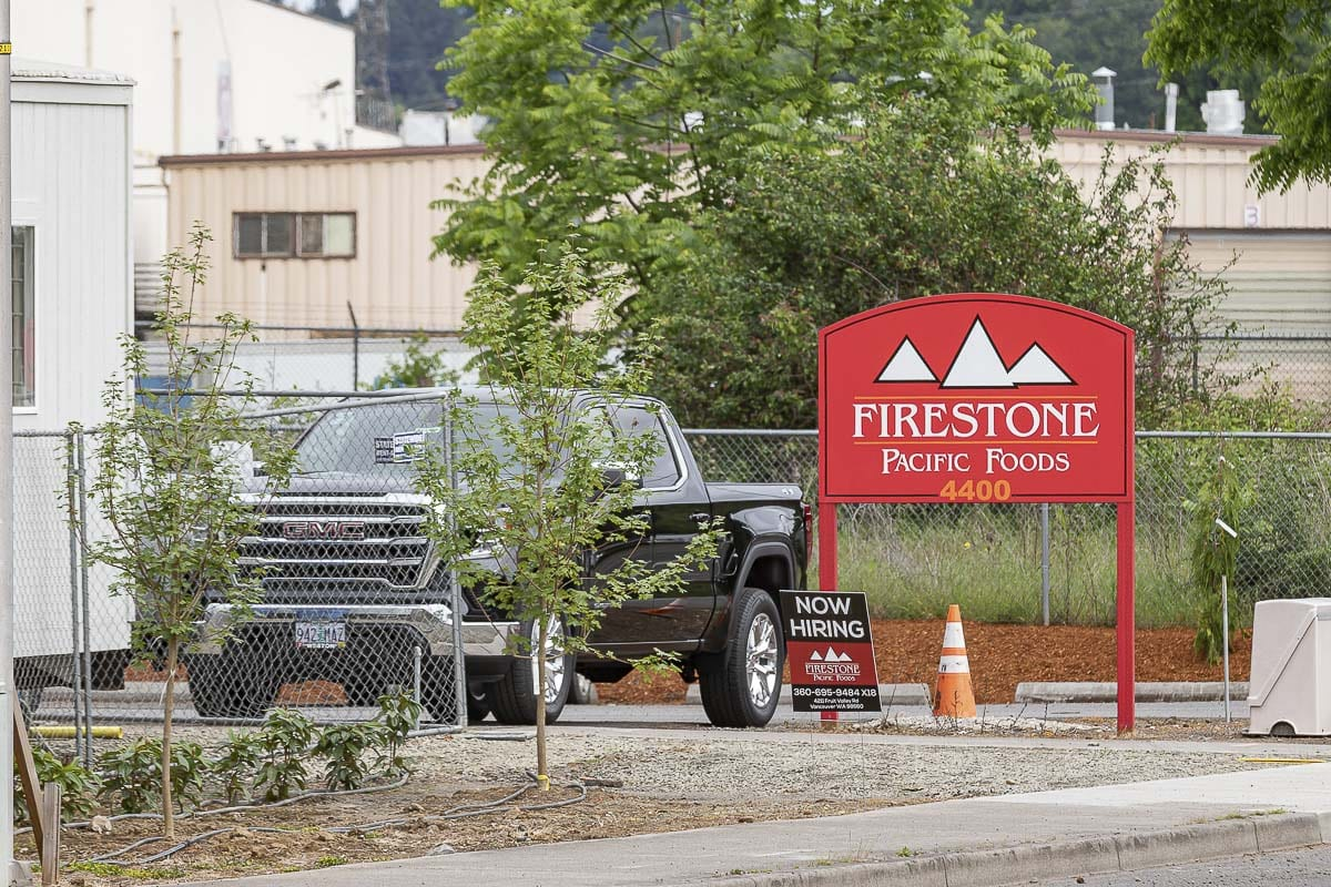 Firestone Pacific Foods on Fruit Valley Road has become the epicenter of the Portland-metro area's largest COVID-19 outbreak. Photo by Mike Schultz