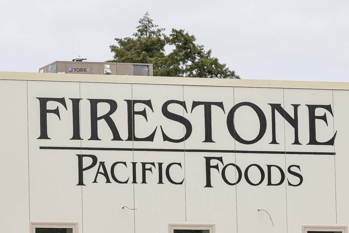74 Firestone Pacific Foods employees and 32 of their close contacts have tested positive for COVID-19. Photo by Mike Schultz