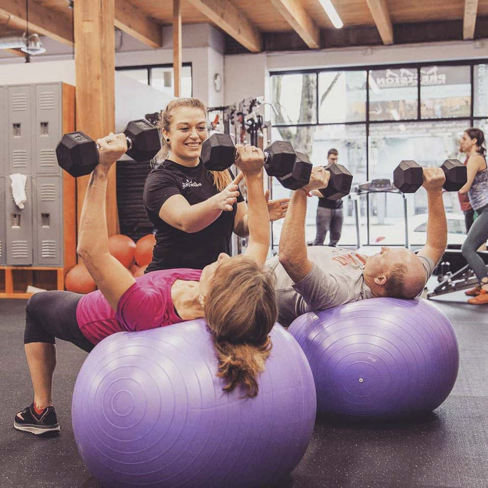 The fitness industry has been hit with closures that leave very limited options regarding how they can continue to bring in any revenue. Photo courtesy of Precision Personal Training