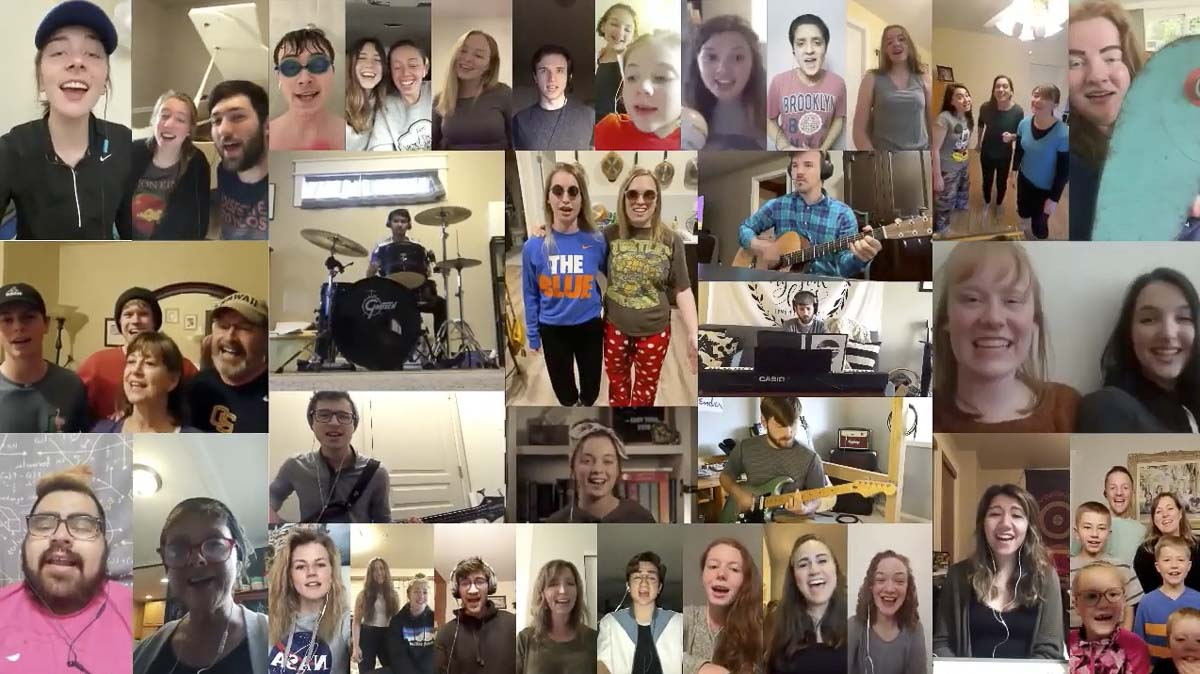 """Over 30 people contributed to the band's """"Quarantine Edition"""" video compilation of """"It Gets Better"""" during the restrictions of COVID-19. Photo courtesy of The Governors"""
