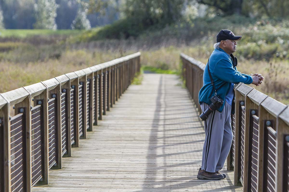 The entire Steigerwald Lake National Wildlife Refuge, including the dike trail, beginning just east of Index Street, will be closed to the public from July 6 through October 2 of this year and again beginning in April 2021. Photo by Mike Schultz