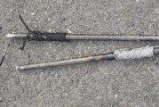 Photo of weapons involved in April 28 officer-involved shooting released