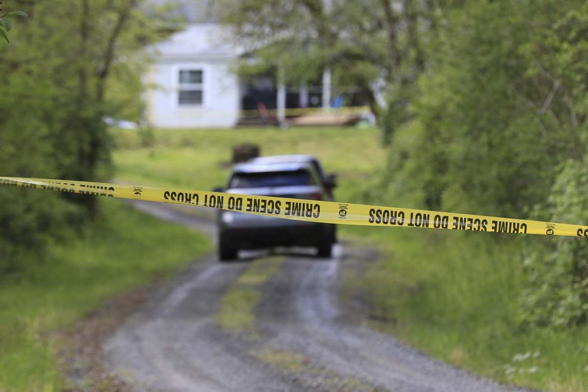 The deceased female found in Battle Ground Sunday appeared to have suffered multiple gunshot wounds while the male appeared to have suffered a single self-inflicted gunshot wound. Photo by Mike Schultz