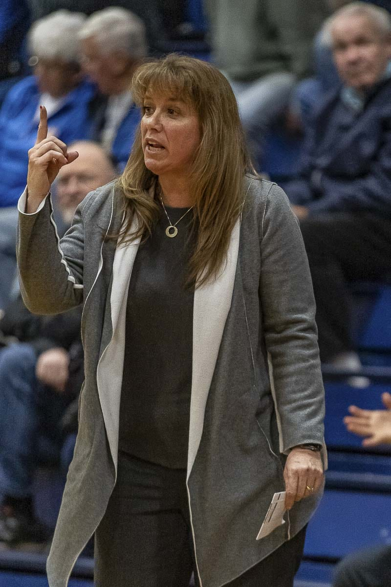Hala Corral has resigned as head coach of Prairie girls basketball to take a promotion at her work. She is moving to Idaho. Photo by Mike Schultz