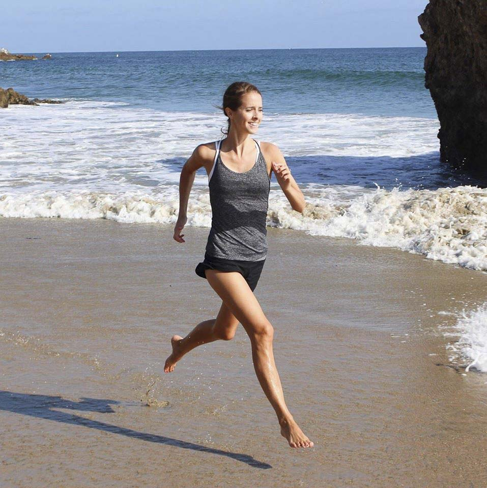 Sarah Panther is able to run again now after spending six years in bed with chronic illness. The former Vancouver resident, now living in Orange County, Calif., is a health coach. Photo courtesy Sarah Panther