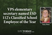VPS elementary secretary named ESD 112's Classified School Employee of the Year